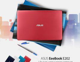ASUS EeeBook E202, Notebook Hebat Penunjang Kreativitas